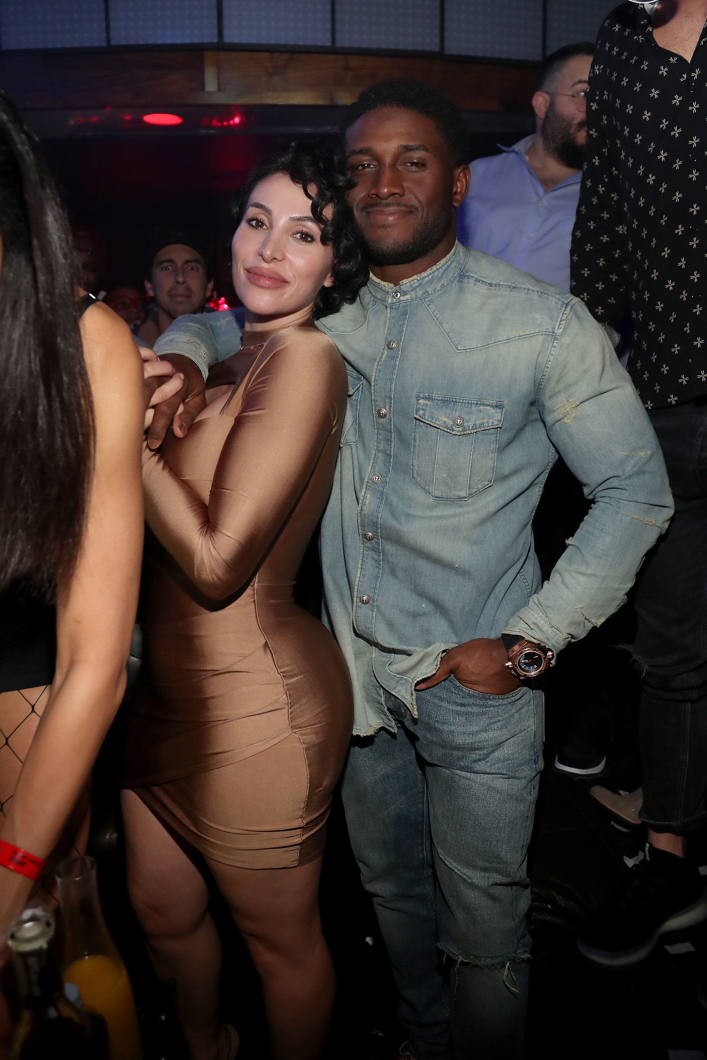 Reggie Bush and Lilit Avagyan at TAO group's Big Game Takeover on January 31, 2019 in Georgia. | Photo: Getty Images