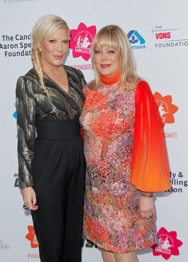 Tori Spelling and Candy Spelling at LA's Best annual family dinner. | Source: Getty Images