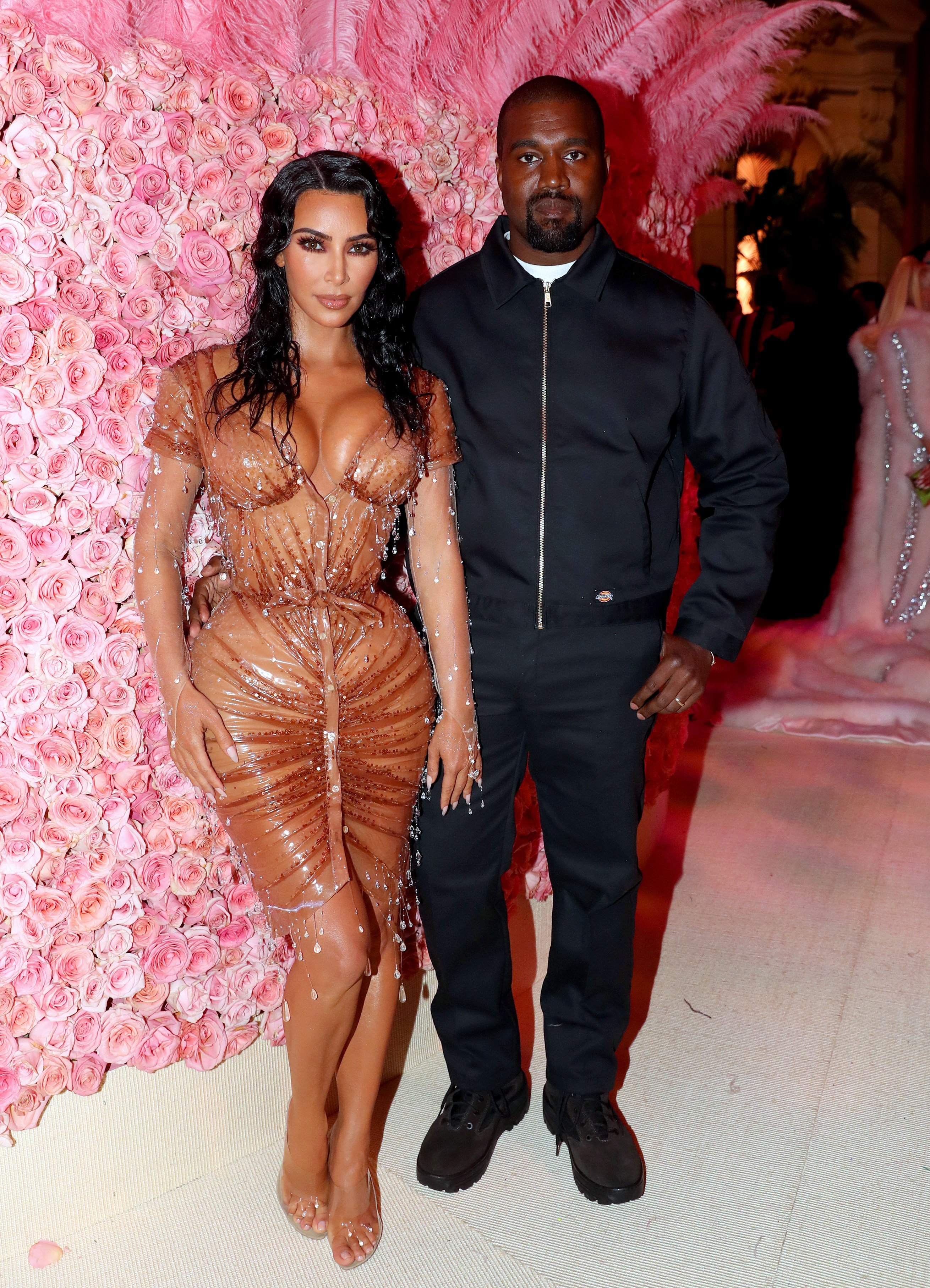 Kim Kardashian and Kanye West at the 2019 Met Gala | Photo: Getty Images