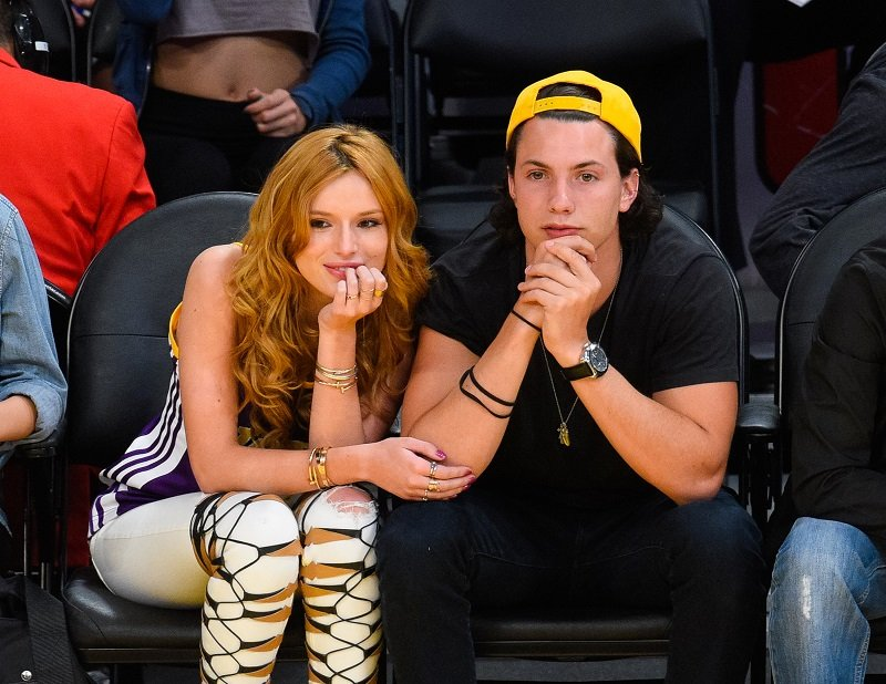 Bella Thorne and Ryan Nassif on April 3, 2015 in Los Angeles, California | Photo: Getty Images