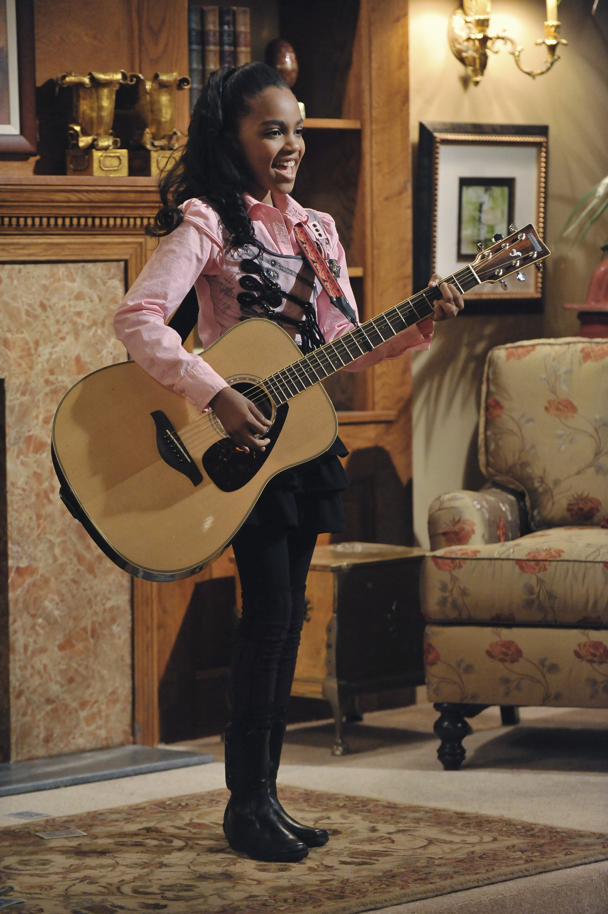 """China McClain as Chyna Sparks in the """"A.N.T. Farm"""" pilot 