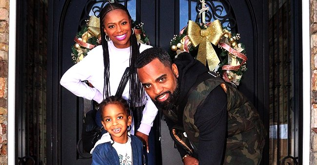 Kandi Burruss' Husband Todd Tucker and Son Ace Chill Together in Quarantine