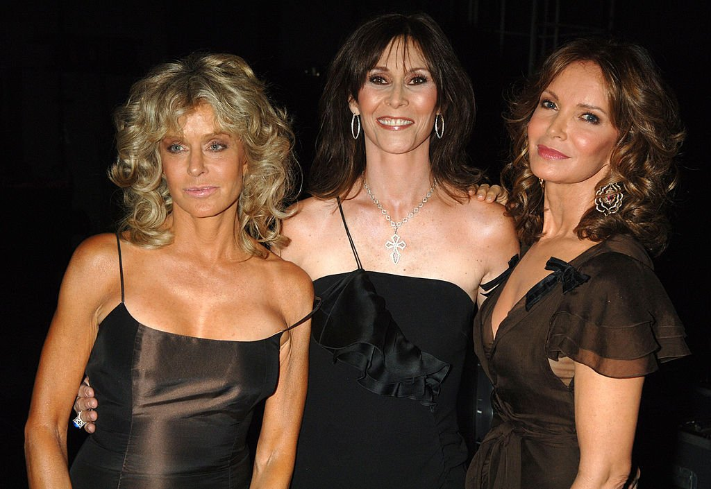Farrah Fawcett, Kate Jackson and Jaclyn Smith during 58th Annual Primetime Emmy Awards - Backstage at The Shrine Auditorium in Los Angeles, California, United States | Photo: GettyImages