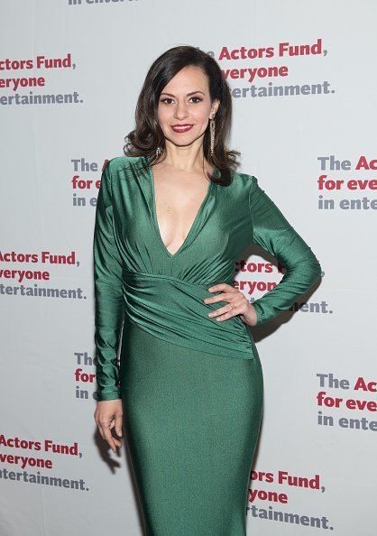 Mandy Gonzalez at The Actors Fund 2018 Gala at Marriott Marquis Times Square on May 14, 2018 in New York City.  Photo:Getty Images