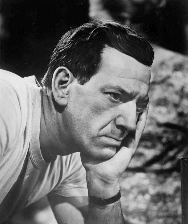 "Jack Klugman from the television series ""The Twilight Zone."" 