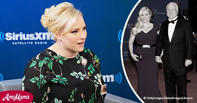 Fans slam Meghan McCain for saying she 'hates' America without late father John's leadership