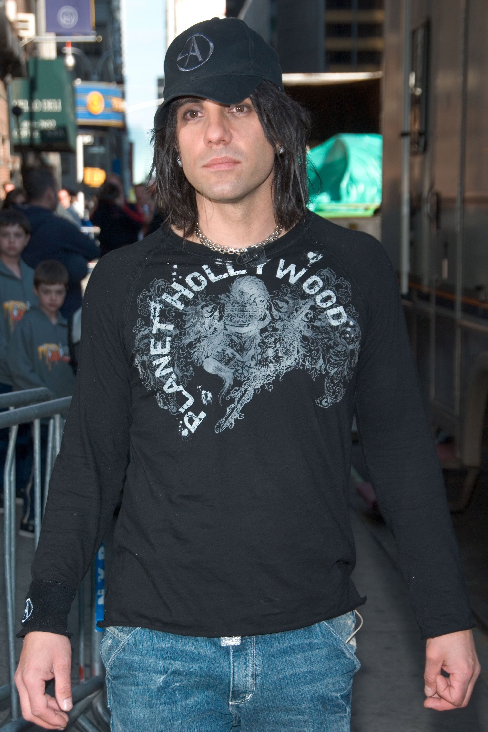 Illusionist and musician Criss Angel at Planet Hollywood in Las Vegas | Source: Getty Images