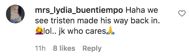 A fan commented on a photo of Rob Kardashian and Tristan Thompson in a swimming pool in Turks and Caicos | Source: Instagram.com/robkardashianofficial