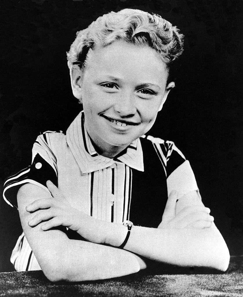 Dolly Parton as a child. I Image: Getty Images.