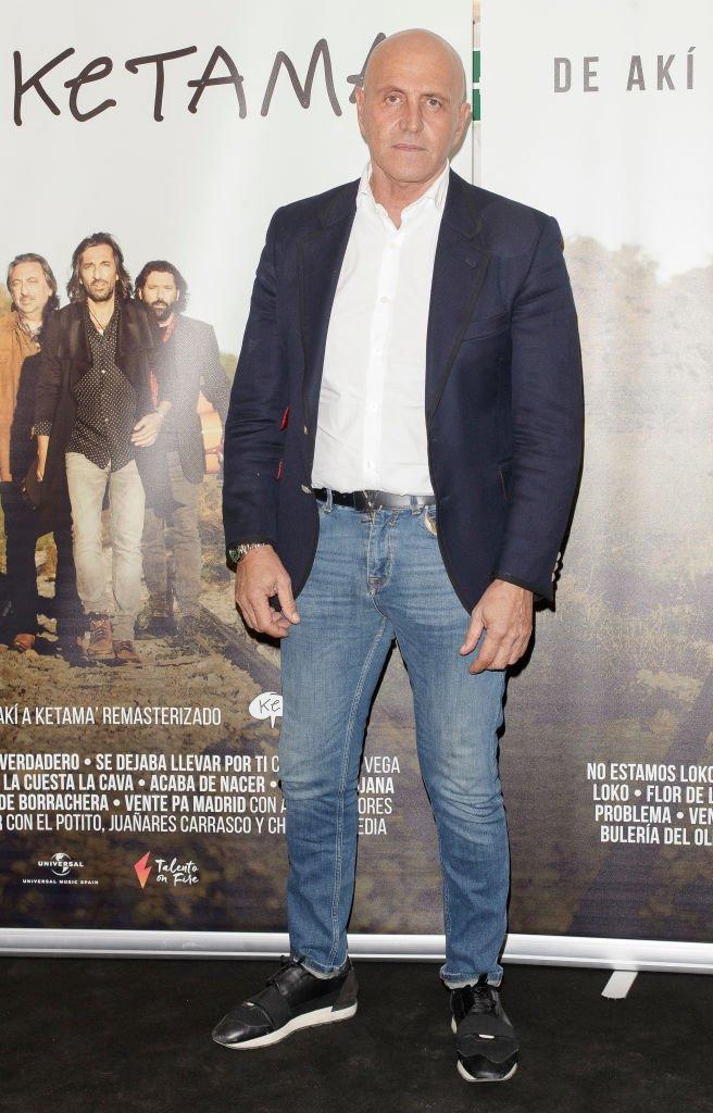 Kiko Matamoros en el cine Palacio de la Prensa.| Fuente: Getty Images