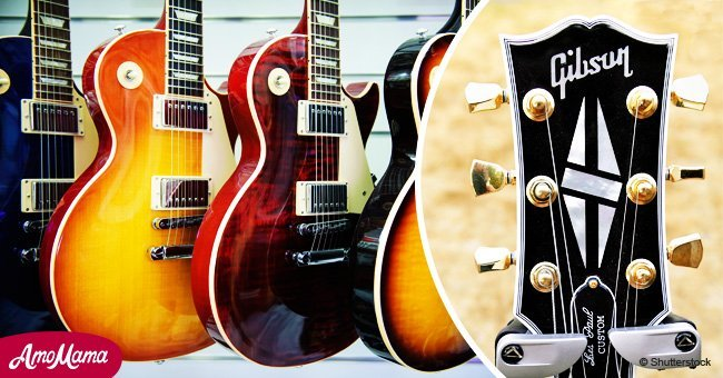 Guitar brand Gibson files for bankruptcy 116 years after its foundation