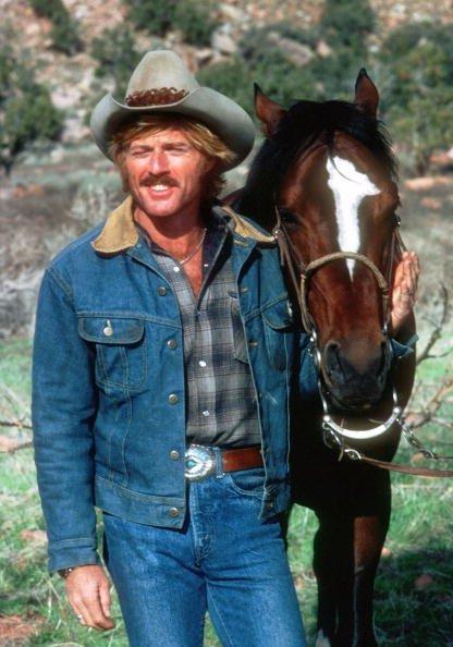 Robert Redford en Utah filmando la película 'The Electric Horseman' en marzo de 1979. | Fuente: Getty Images.