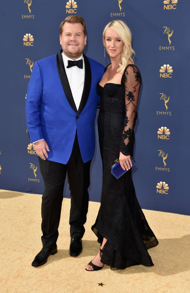 James Corden and Julia Carey on September 17, 2018 in Los Angeles, California | Source: Getty Images/Global Images Ukraine