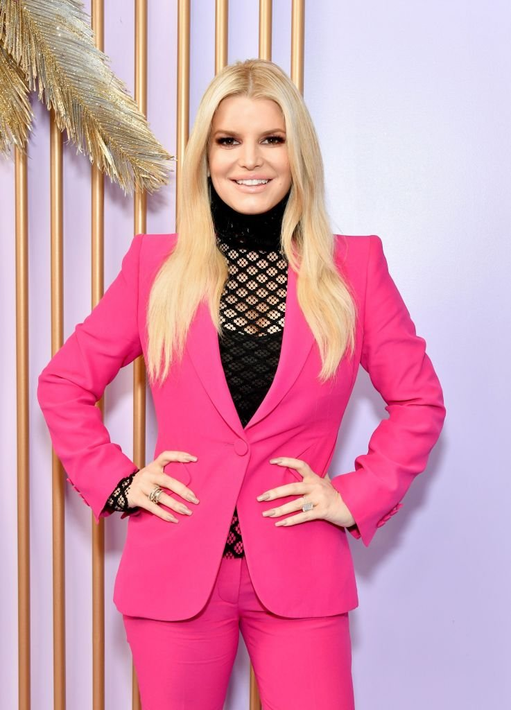Jessica Simpson at Create & Cultivate Los Angeles at Rolling Greens Los Angeles on February 22, 2020   Photo: Getty Images