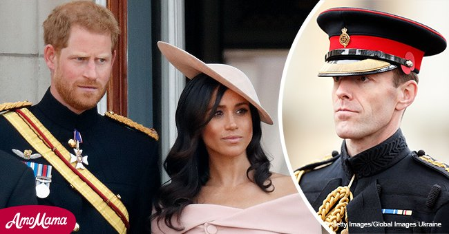 Hello: Meghan Markle and husband have to say a final farewell to a man very dear to Prince Harry