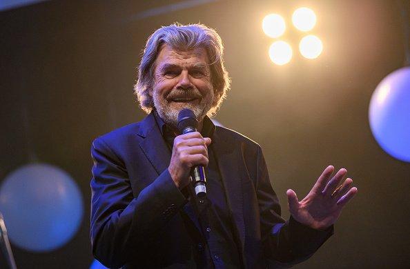 Reinhold Messner, 36. Sportpresseball, Frankfurt am Main, 2017   Quelle: Getty Images
