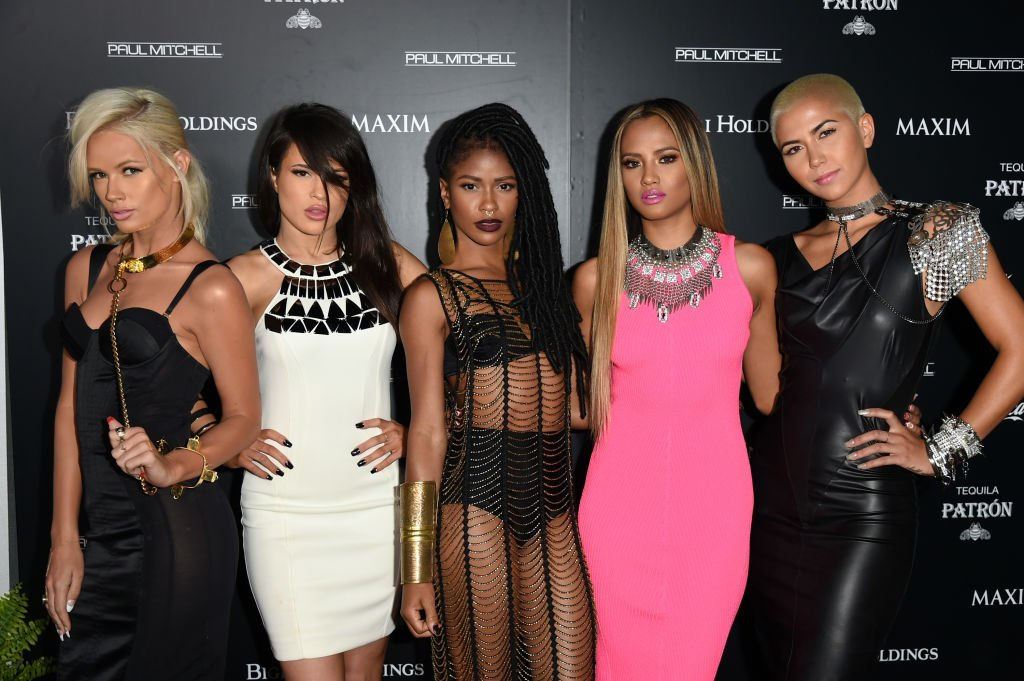 G.R.L. attend Maxim's Hot 100 Women of 2014 celebration on June 10, 2014.   Photo: Getty Images