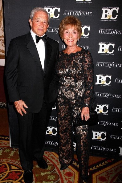 Judge Judy Sheindlin and Judge Jerry Sheindlin attend the 2012 Broadcasting & Cable Hall of Fame Awards at The Waldorf=Astoria in New York City | Photo: Getty Images