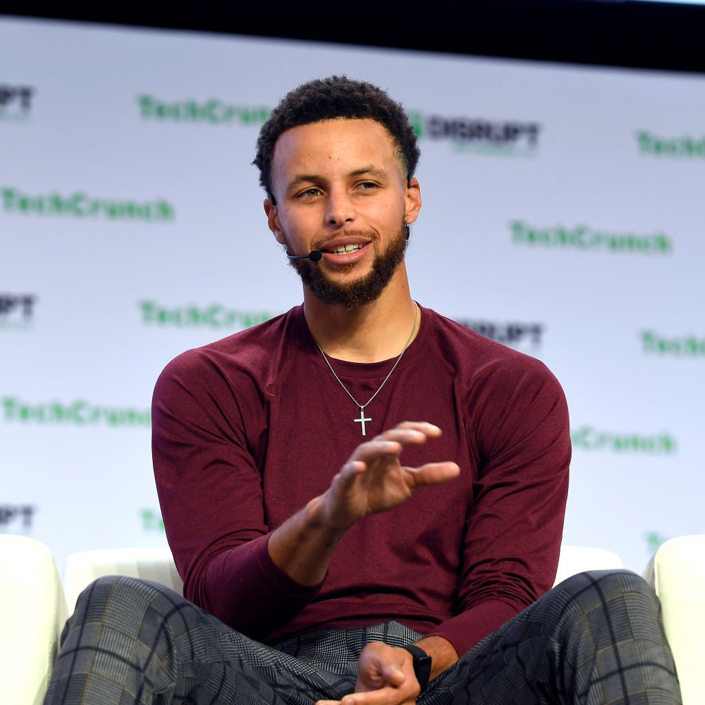 Founder Stephen Curry speaks onstage during TechCrunch Disrupt San Francisco 2019 at Moscone Convention Center | Photo: Getty Images