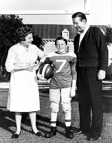 """Shirley Booth, Bobby Buntrock and Don DeFore from the television program """"Hazel."""" 
