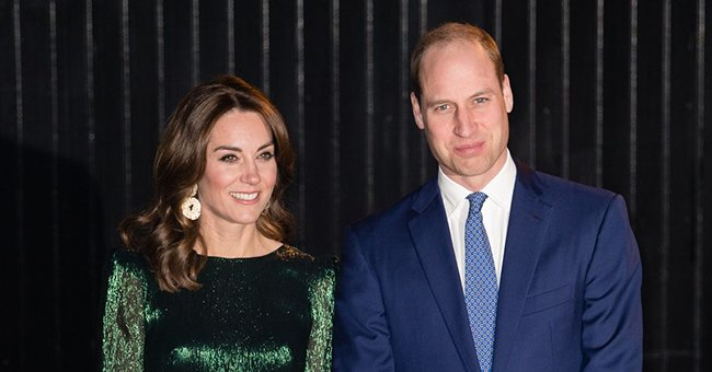 Kate Middleton and Prince William Pictured Waiting on a Train Platform — See the Royal Couple