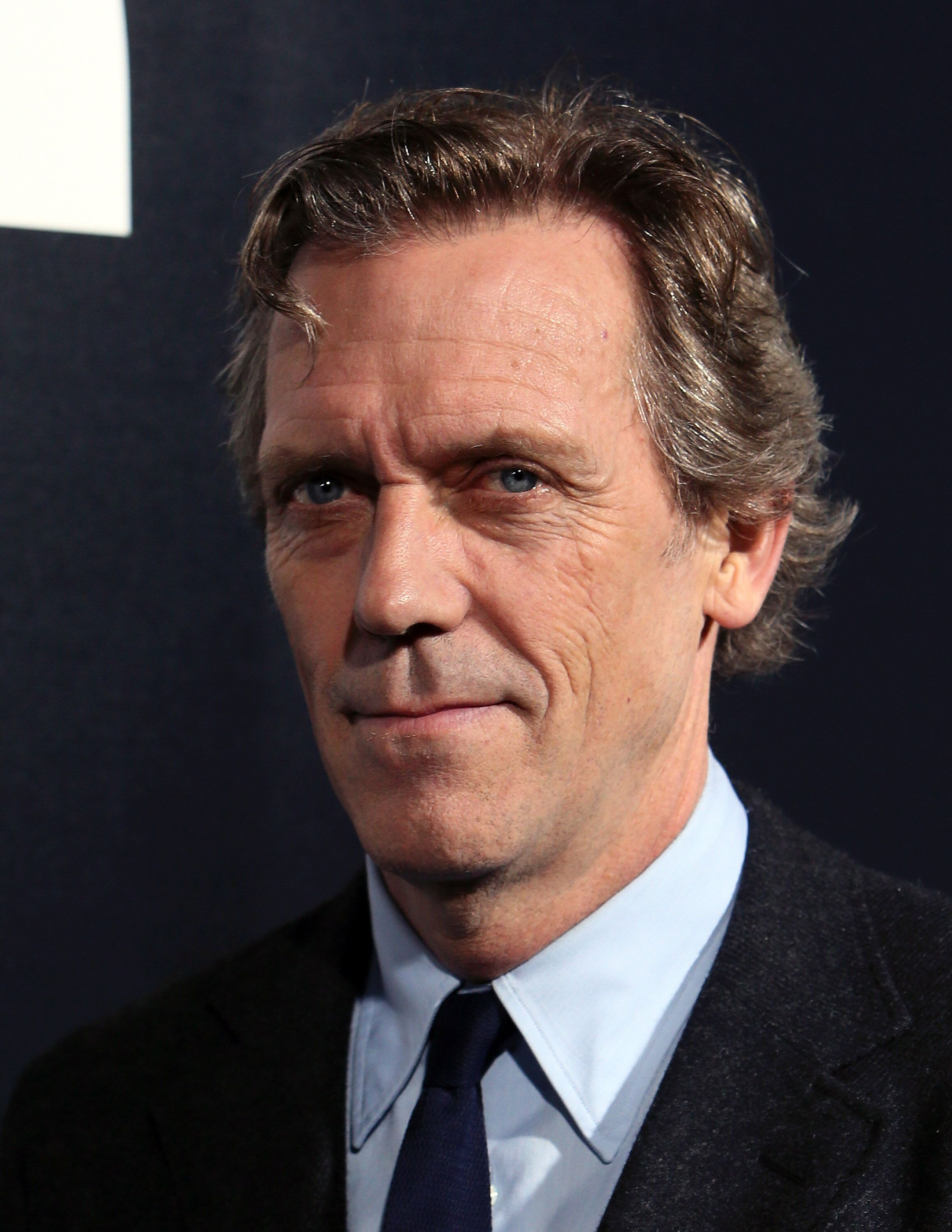 """Hugh Laurie attends the premiere of Hulu's """"Chance"""" at Harmony Gold Theatre. 