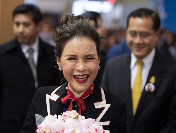 Princess Ubolratana, the eldest sister of the King of Thailand, is coming to Thailand's stand at the ITB travel fair in Hall 26 | Photo: Getty Images