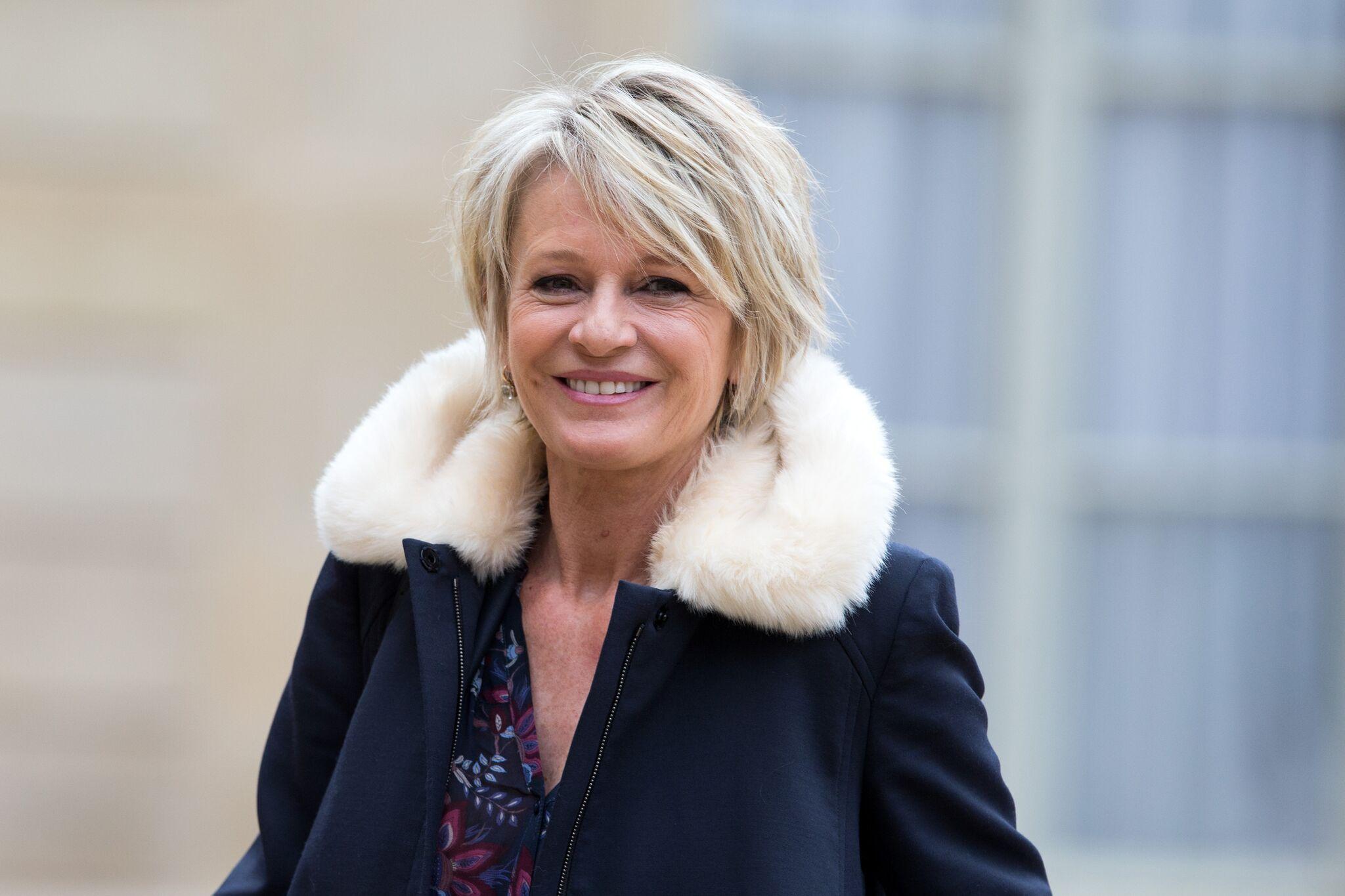 La présentatrice Sophie Davant. l Source : Getty Images