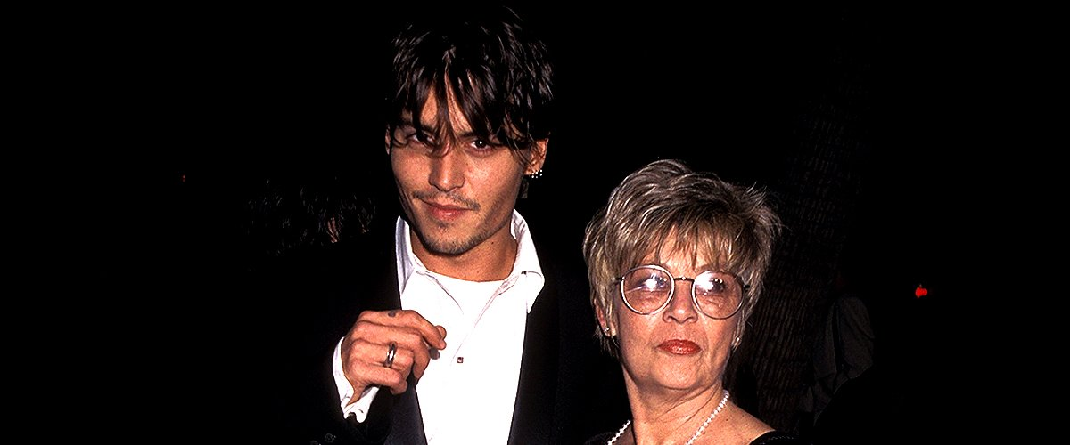 '21 Jump Street' Johnny Depp's Close Bond and Relationship with His Late Mom Betty Sue Palmer