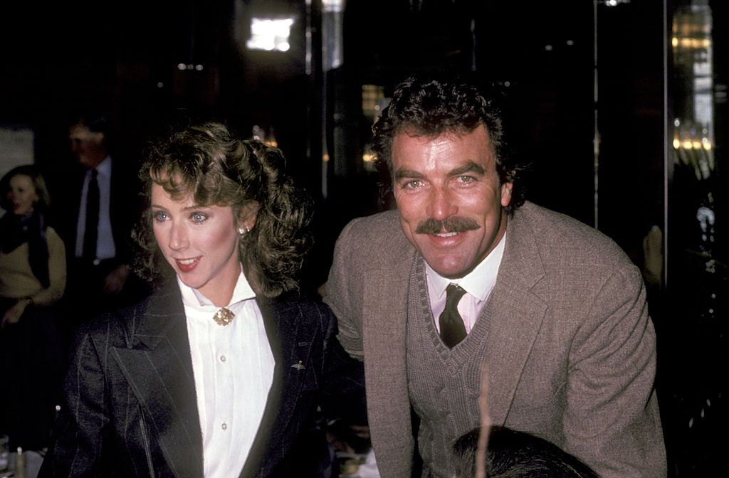Tom Selleck and Jillie Mack at Patricia Neal's 59th Birthday Celebration at Potomac Room at the Watergate Hotel in Washington D.C., United States. | Source: Getty Images