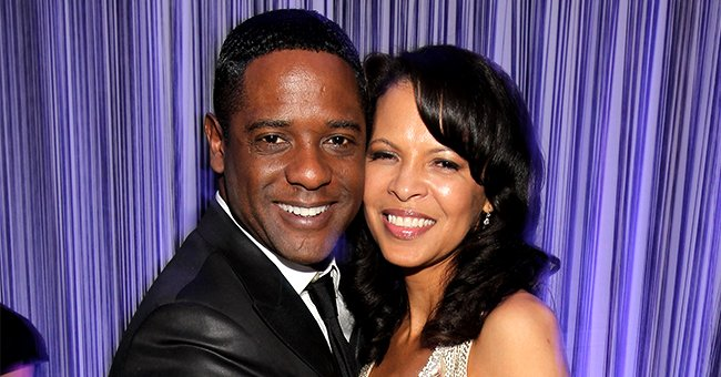 Blair Underwood and Desiree DaCosta at The Beverly Hilton hotel on January 16, 2011   Photo: Getty Images