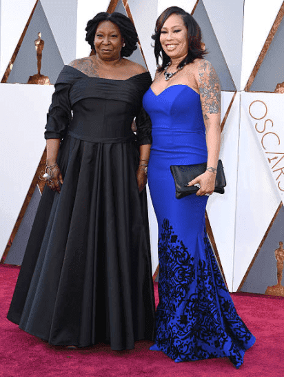 Whoopi Goldberg and daughter, Alexandrea Martin arrive on the red carpet at the 88th Annual Academy Awards, on February 28, 2016 in Hollywood, California | Source: Getty Images (Photo by Steve Granitz/WireImage)
