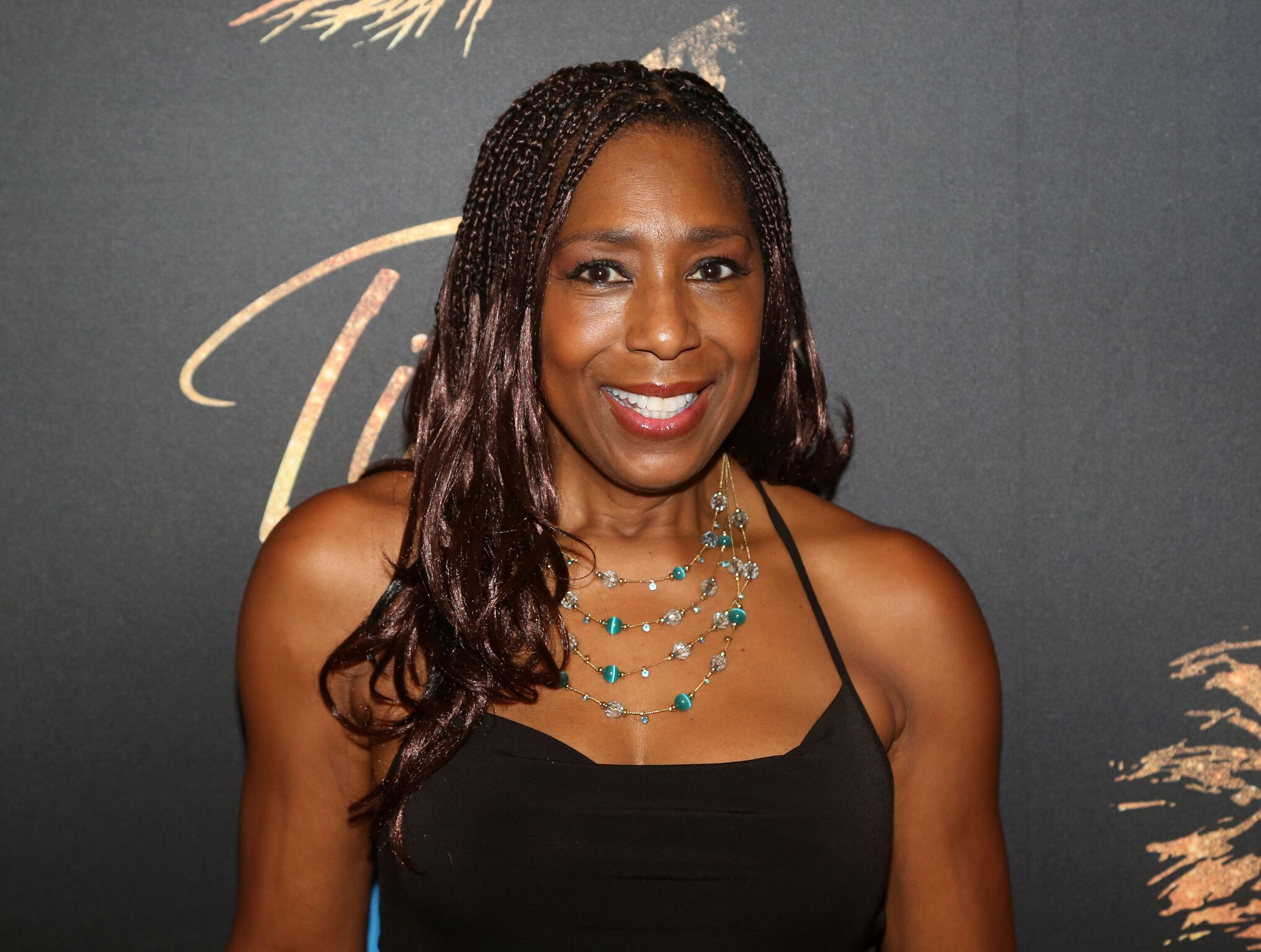 """Dawnn Lewis poses at a photo call for the new broadway musical """"Tina - The Tina Turner Musical""""  