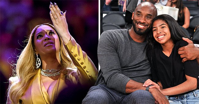Beyoncé Looked to the Sky as She Opened Kobe and Gianna Bryant's Memorial Performing 'XO' and 'Halo'