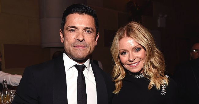 Kelly Ripa Gets a Head Start on Father's Day with a Sweet Throwback Photo of Mark Consuelos