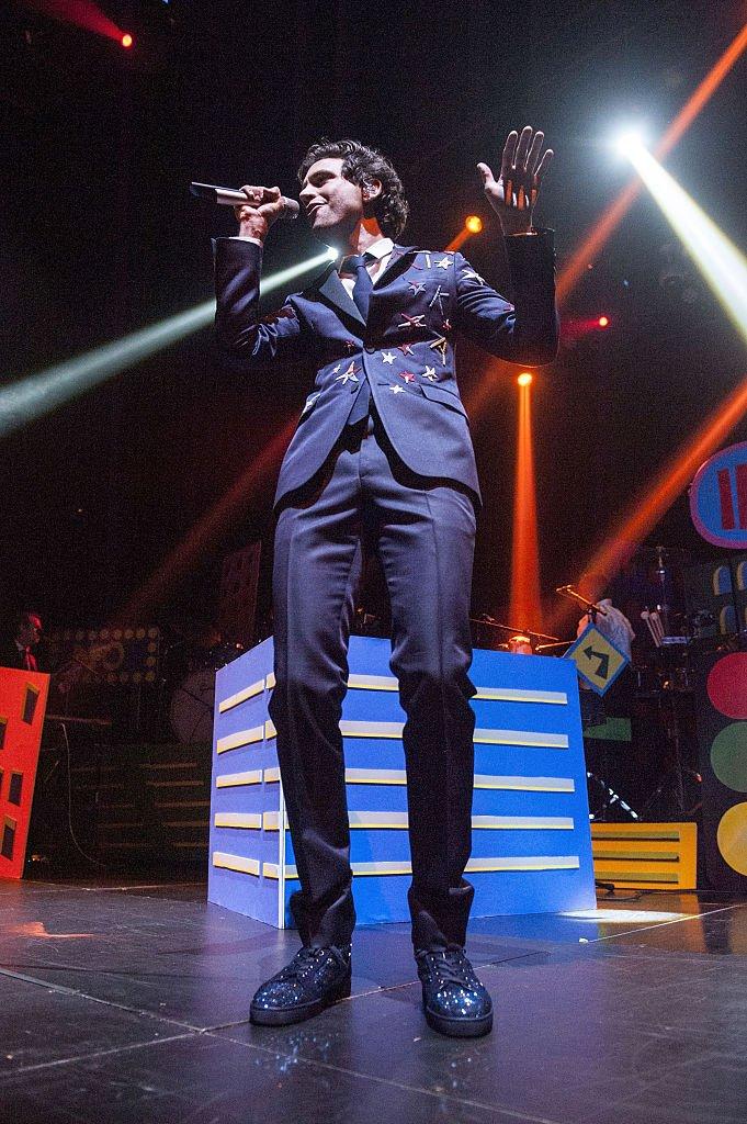 Mika à Los Angeles en 2015. l Source : Getty Images
