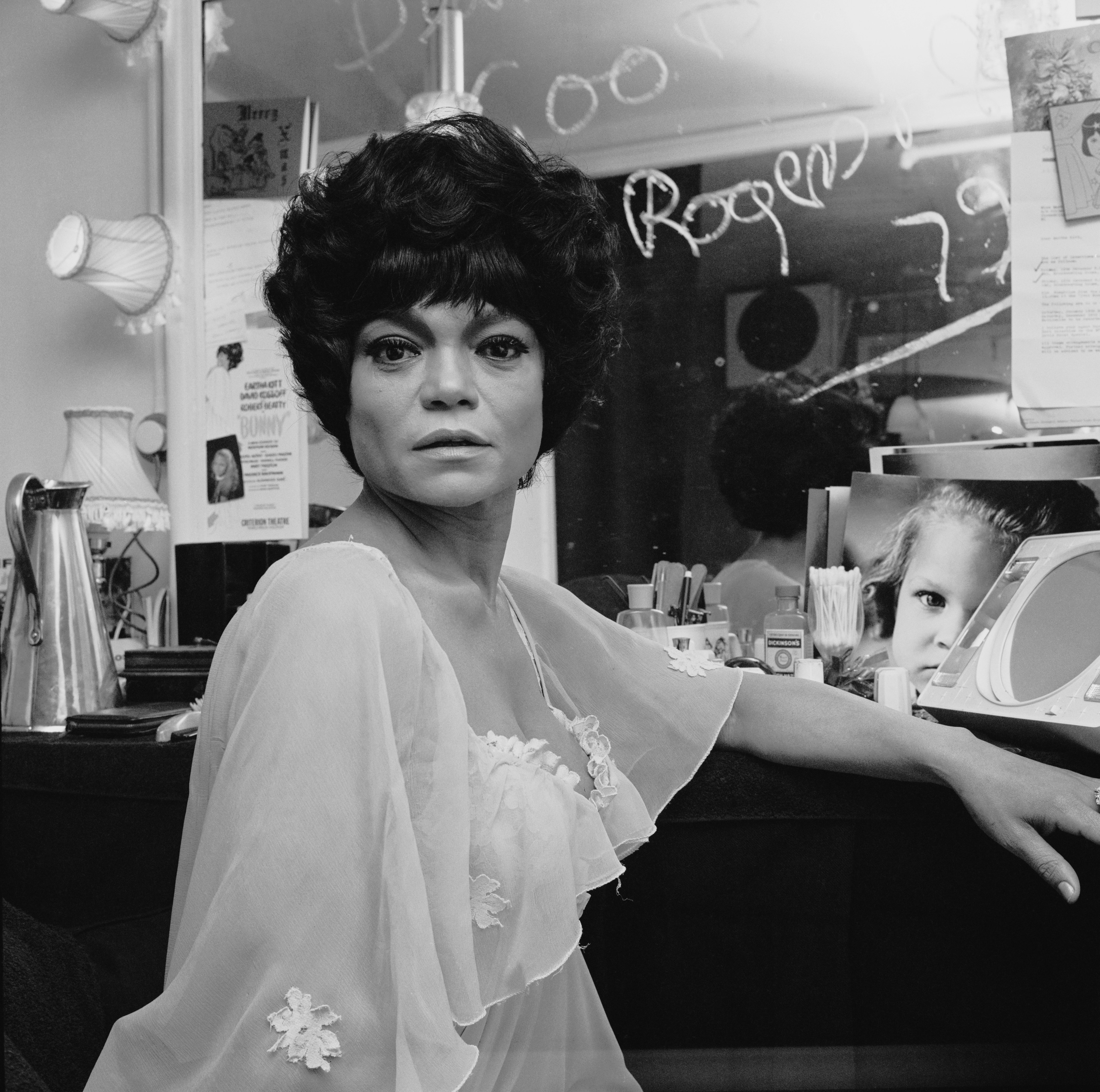 Eartha Kitt photographed in the UK, on December 19, 1972   Photo: Getty Images