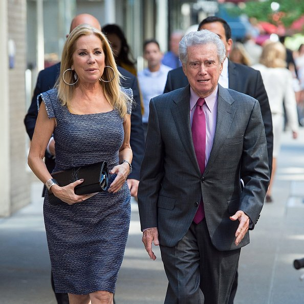 Kathy Lee Gifford and Regis Philbin are seen in Midtown on September 23, 2015 in New York City. | Photo: Getty Images