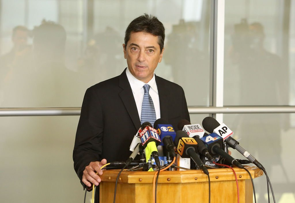 Scott Baio attends a news conference to discuss harassment allegations | Photo: Getty Images