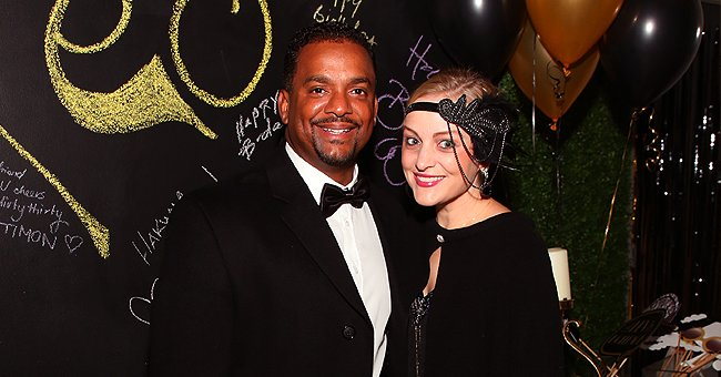 Alfonso Ribeiro's Wife Angela Shares Adorable Family Photo with Husband and Their 4 Kids on Christmas