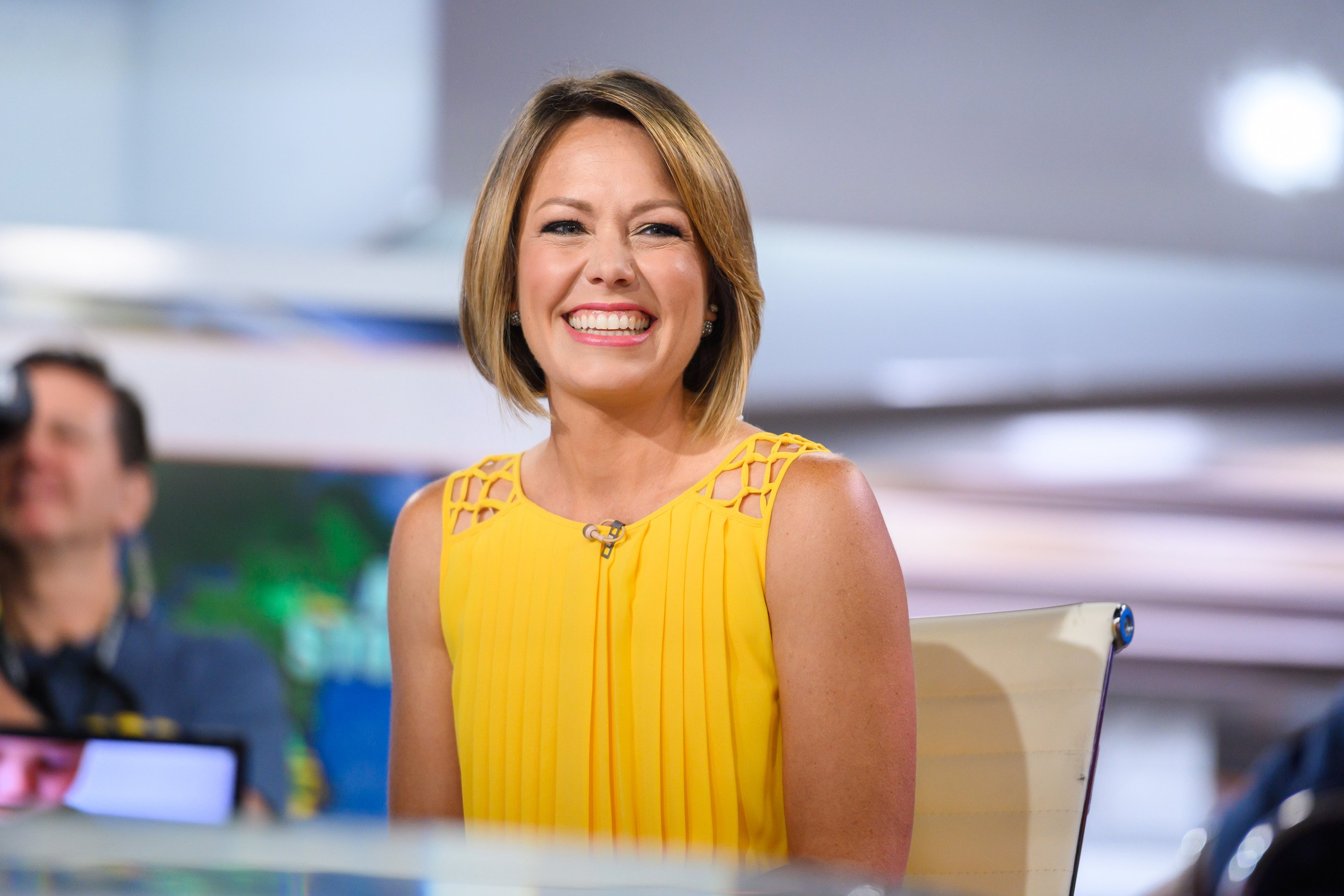 "TV personality Dylan Dreyer on the ""TODAY"" set, July 17, 2019 