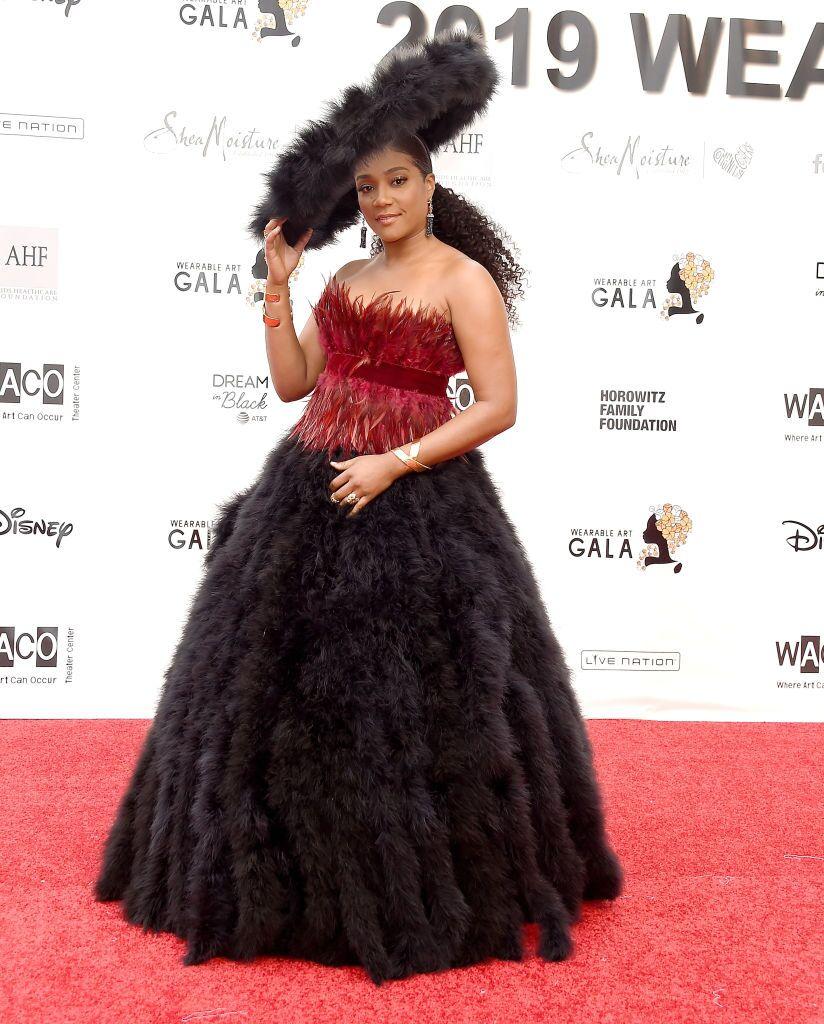 Tiffany Haddish at Gala red carpet/ Source: Getty Images