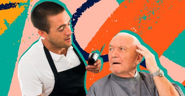 The businessman stopped at a little barbershop on the corner to get a haircut.   Photo: Shutterstock