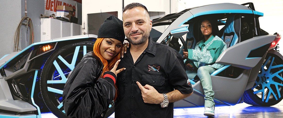 Best of Builders: Teyana Taylor's Slingshot Designed by Alex Vega Is the Bomb — Watch Out West Coast!