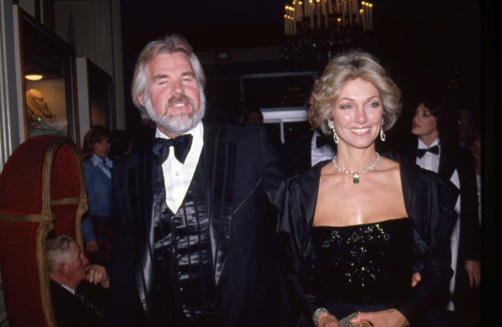 Kenny Rogers and his wife Marianne Gordon attend an event in circa 1983.   Source: Getty Images
