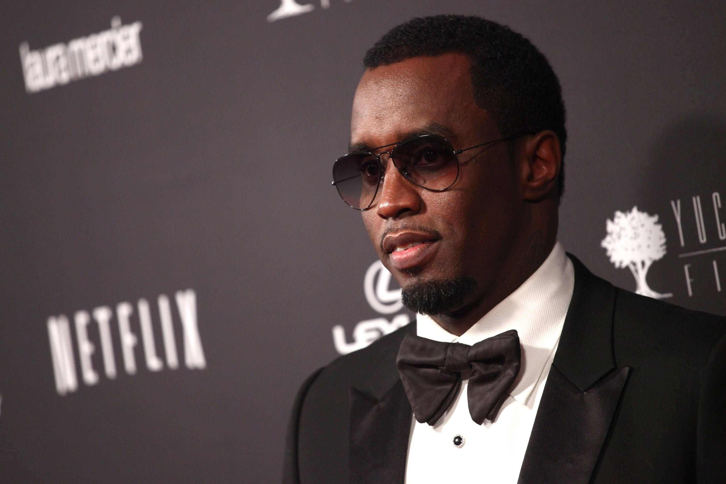 Sean Combs at the Weinstein Company's 2014 Golden Globe Awards after party on January 12, 2014 | Photo: Getty Images