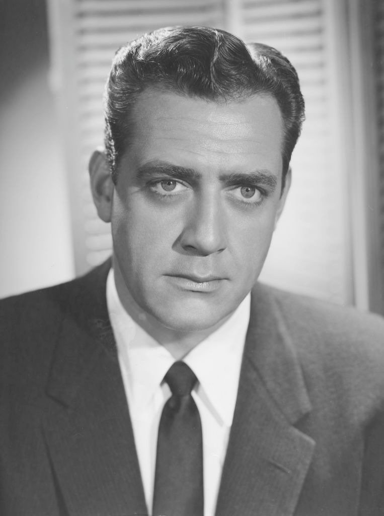 A portrait of Canadian actor Raymond Burr, circa 1955 | Photo: Getty Images