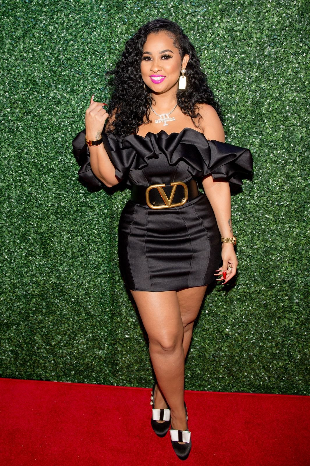 Tammy Rivera during her private album listening party at Lips on February 18, 2020 in Atlanta, Georgia. | Source: Getty Images