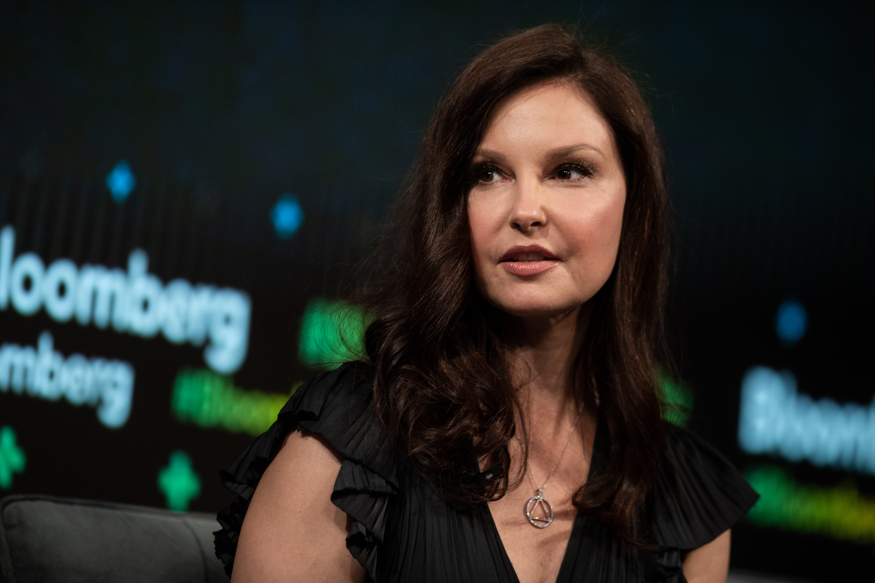 Ashley Judd speaks during the Bloomberg Business of Equality conference in New York, U.S., on May 8, 2018 | Photo: Getty Images