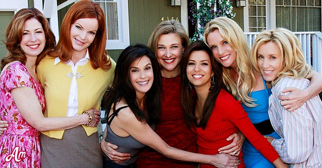 Desperate Housewives Besetzung ca. 2012 | Quelle: Getty Images